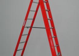 Scala a sfilo in vetroresina- senza fune, a 2 o 3 elementi