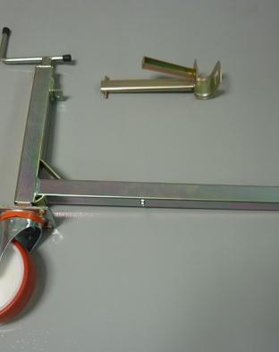 Livellatore con ruota per FZR + puntone