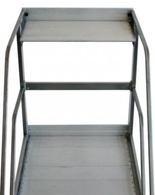 pedana scala a rampa