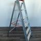 Scala professionale per Elettricisti, Imbianchini e Muratori - Scala a libro in alluminio tipo SP/3 con piano di appoggio