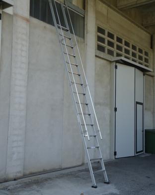 scala corrimano - gradino piano