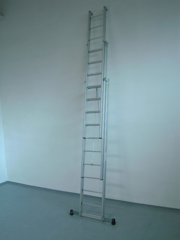 scala sfilo alluminio con fune